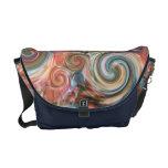 Earth Pastel Swirls Messenger Bag
