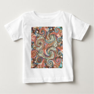 Earth Pastel Swirls of Color T-shirt