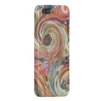 Earth Pastel Swirls Phone Case
