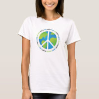 Earth Peace Sign T-Shirt