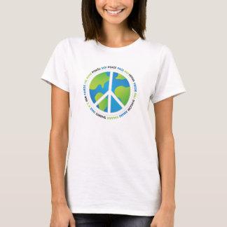 Earth Peace Sign T-Shirt
