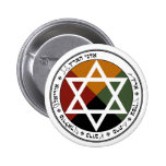 Earth Pentacle Pinback Buttons