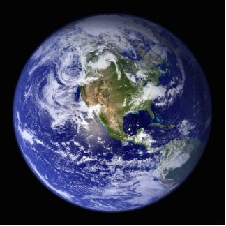 Earth Photo Sculpture