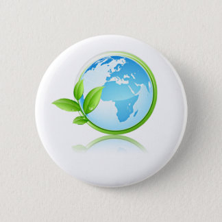 Earth Pinback Button