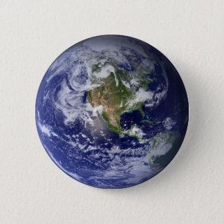 Earth Pinback Button