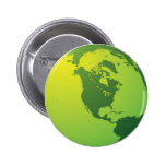 Earth Pinback Buttons