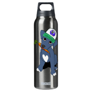 Earth Pittie Thermos Water Bottle