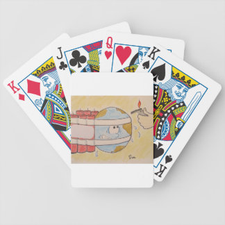 EARTH POLLUTION BICYCLE PLAYING CARDS