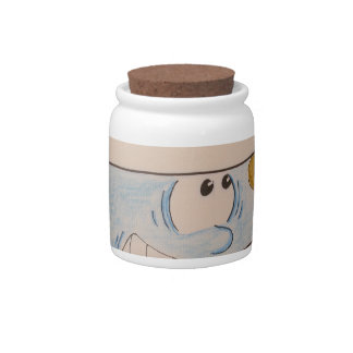 EARTH POLLUTION CANDY JAR