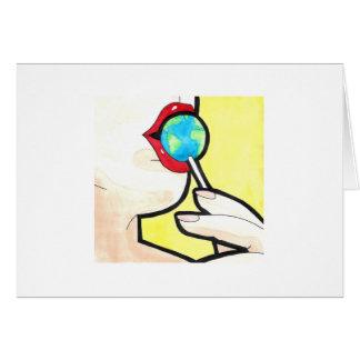 Earth Pop Card