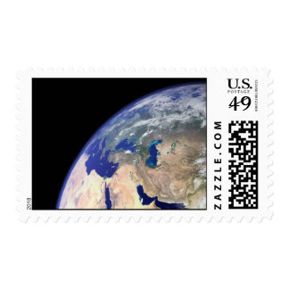 Earth Postage Stamp