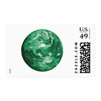 earth postage stamps