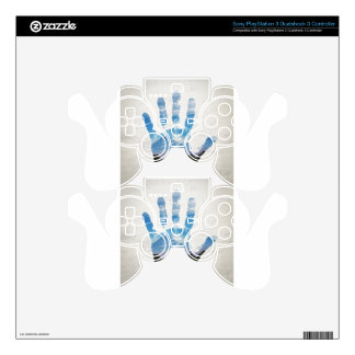 Earth Print PS3 Controller Decals