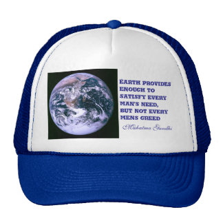 Earth provides hat