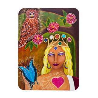 """Earth Queen"" Magnet"