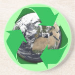 Earth Recycle Coasters