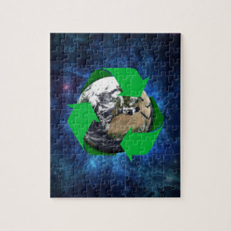 Earth Recycle Jigsaw Puzzle