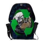 Earth Recycle Messenger Bag