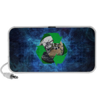 Earth Recycle Mp3 Speaker
