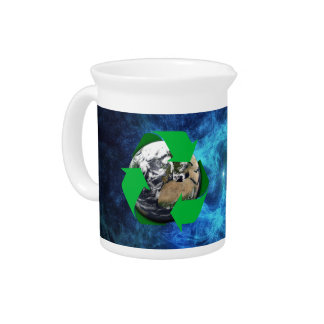 Earth Recycle Pitcher