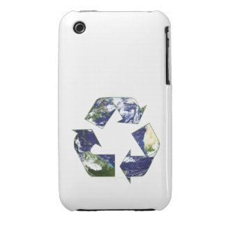 Earth - Recycling iPhone 3 Case-Mate Case