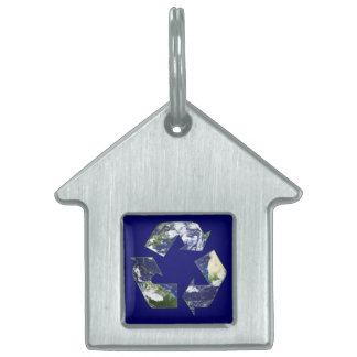 Earth - Recycling Pet ID Tag