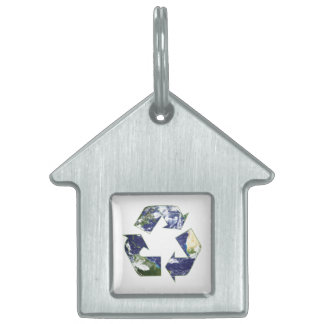 Earth - Recycling Pet Tag