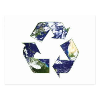 Earth - Recycling Postcard