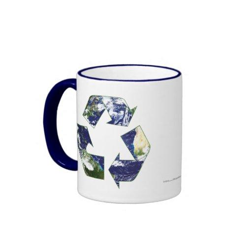 Earth - Recycling Ringer Mug