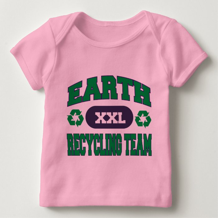 Earth Recycling Team Baby T-Shirt