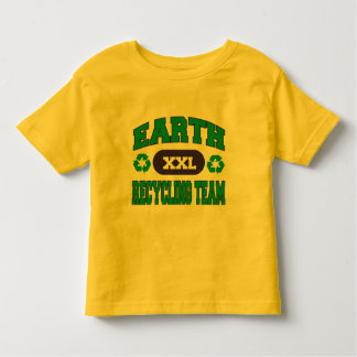 Earth Recycling Team Toddler T-shirt