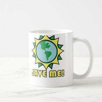 Earth Request: Save Me Coffee Mug