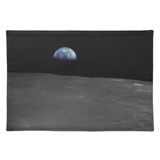 Earth Rise Cloth Placemat