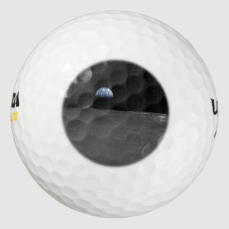 Earth Rise Pack Of Golf Balls