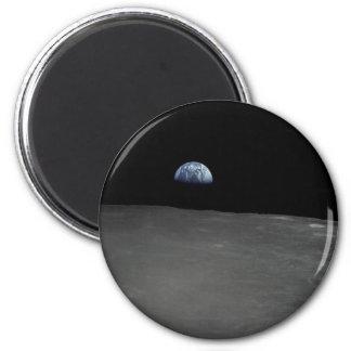 Earth Rise Fridge Magnet