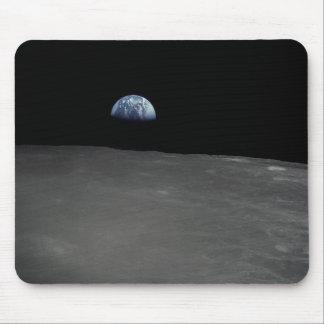 Earth Rise Mouse Pad