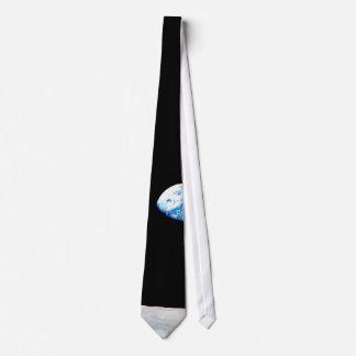 Earth rise neck tie