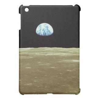 Earth rising over Moon iPad Mini Case