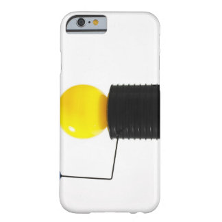 Earth rotating sun model on white background barely there iPhone 6 case