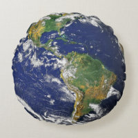 Earth Round Pillow