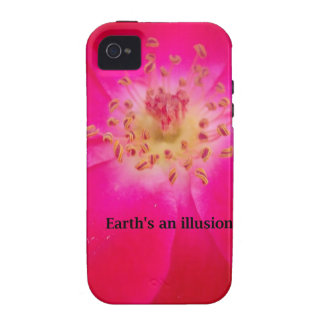 Earth s an Illusion iPhone 4 Case