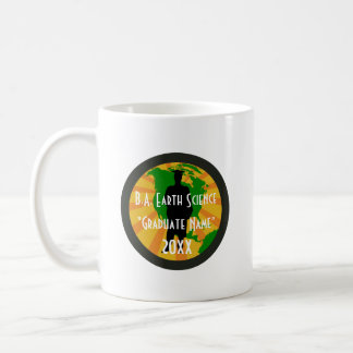 Earth Science Graduate Badge (Male) Coffee Mug