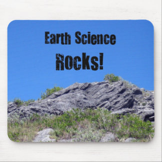 Earth Science Rocks! Mouse Pad