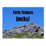 Earth Science Rocks! Postcard