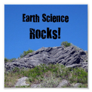 Earth Science Rocks Poster