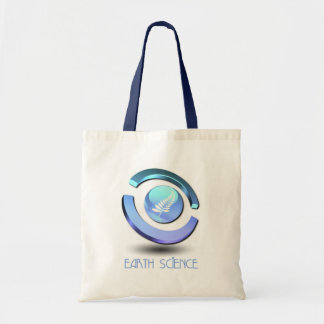 Earth Science Small Canvas Tote Bag
