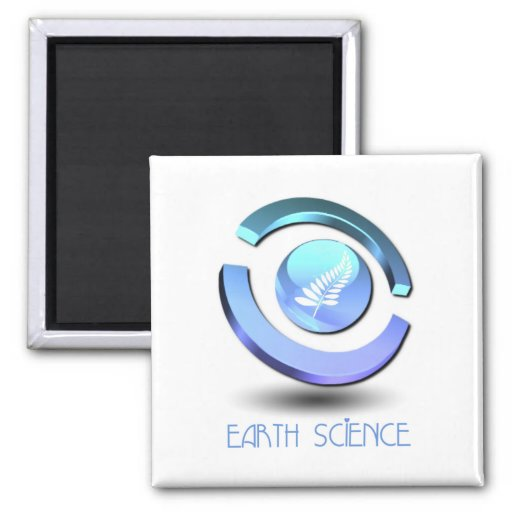 Earth Science Square Magnet Refrigerator Magnets