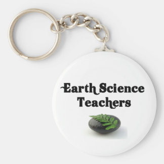 Earth Science Teachers Rock Keychain
