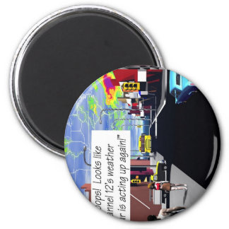 Earth Sciences, Weather, meteorology 2 Inch Round Magnet