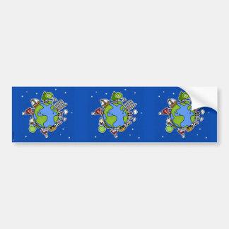 earth scrapbook sticker